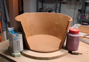 Clay for bonsai pot