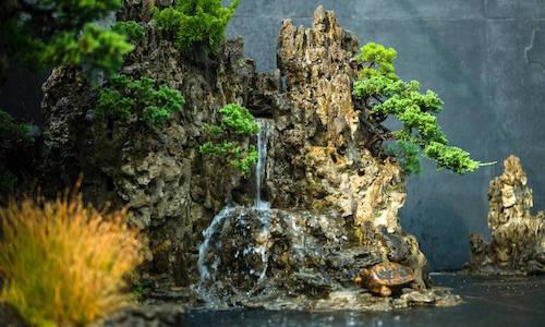 Die Bonsai-Landschaft